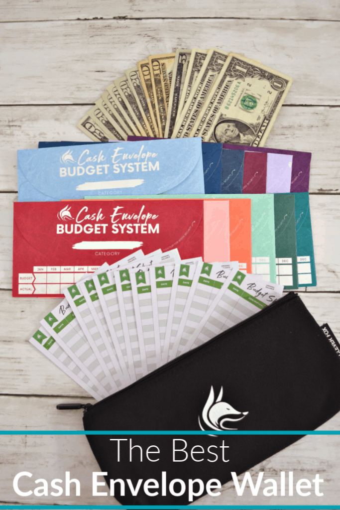 cash envelope with budget sheets, colorful  cash envelopes and cash spread out on table
