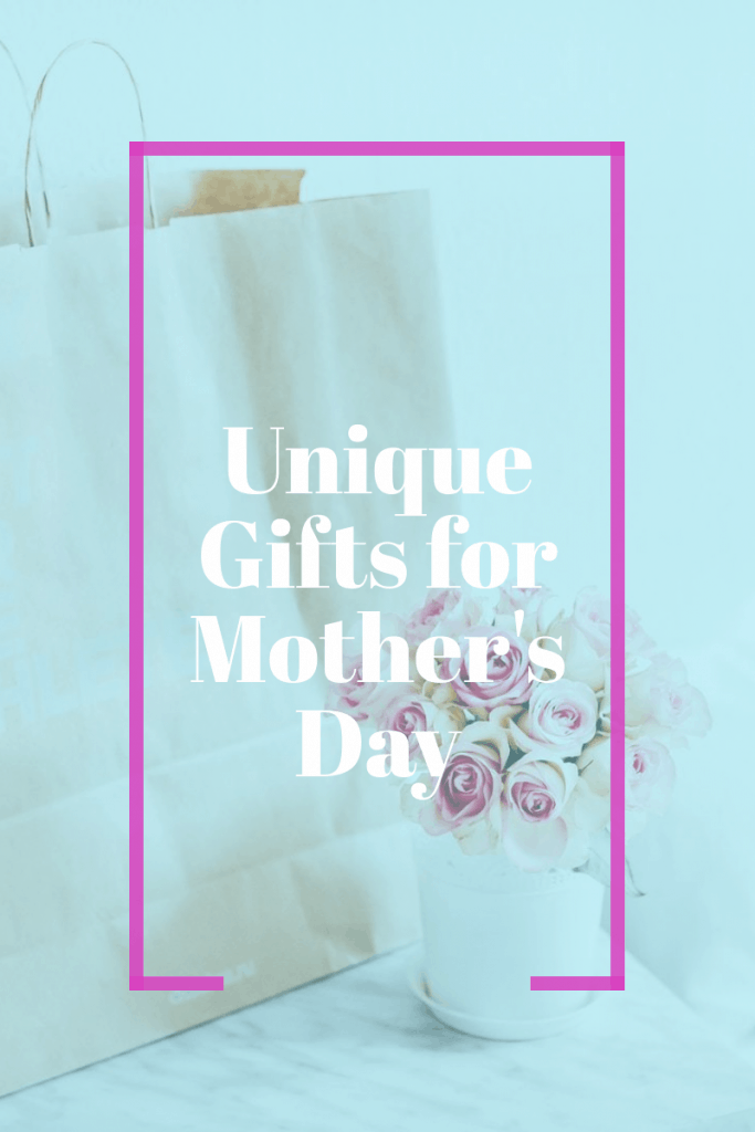 faded image of gift box with flowers and text overlay