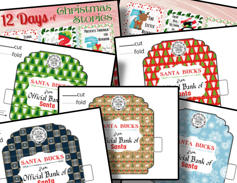 colorful Christmas templates