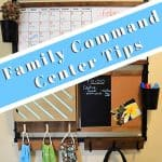 family command center wall organizer