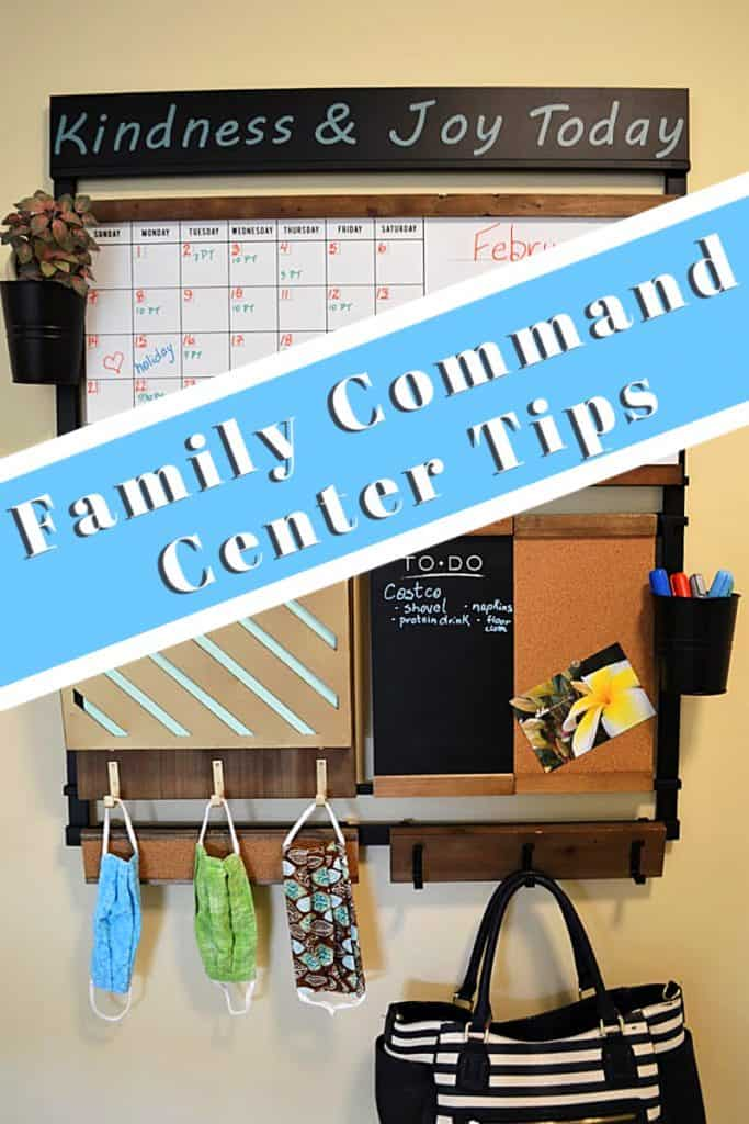 family command center wall organizer