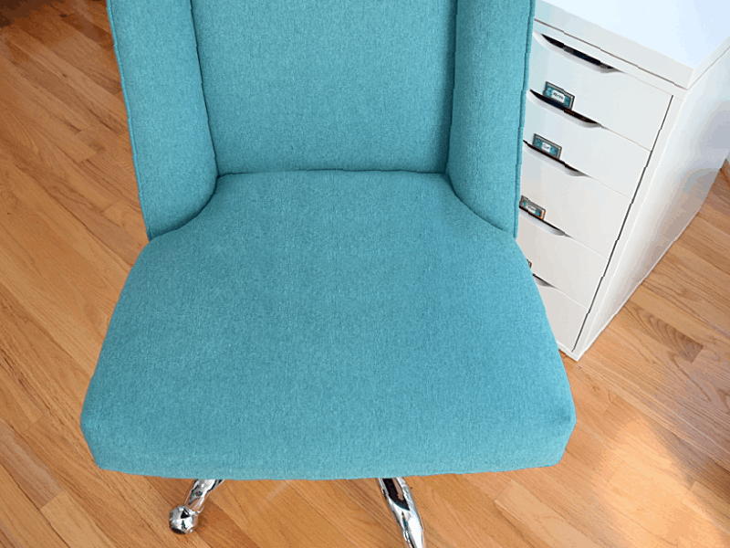 seat cushion of desk chair