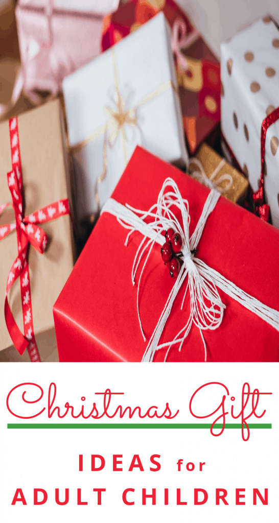 pile of gifts wrapped in white and red paper